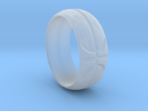 Basketball Ring in Smooth Fine Detail Plastic: Extra Small