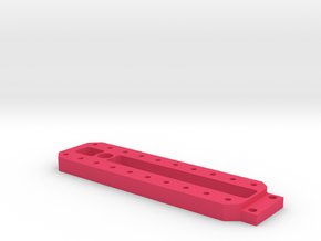 3RACING D4 WEIGHT SHIFT FRAME in Pink Processed Versatile Plastic