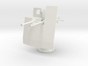 1/11 DKM Double 20mm C/30 Flak w. Shield in White Natural Versatile Plastic