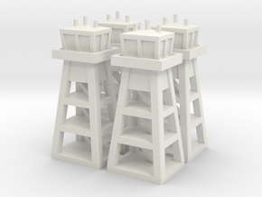 Air Base Tower x4 in White Strong & Flexible