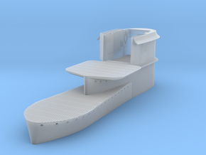 1/72 Uboot VII C41 Conning Tower in Smooth Fine Detail Plastic