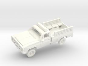 M1008 CUCV Police in White Processed Versatile Plastic: 1:200