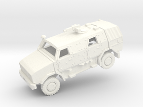 ATF DINGO2 Armored Car  in White Processed Versatile Plastic: 1:160 - N