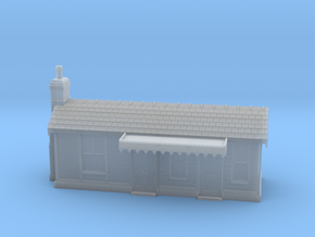 BS21 Bradnop Station in Smooth Fine Detail Plastic