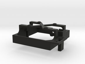 Mamba Monster 2 fan mount for 30 mm fan in Black Premium Versatile Plastic