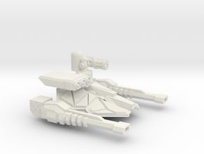 DF-1-72 TANK TURRET MULTI ROLE  in White Natural Versatile Plastic