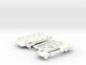 Halvorsen 25K Aircraft Loader in White Processed Versatile Plastic: 1:200