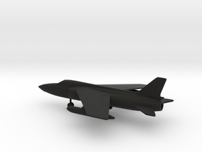 Folland Fo.141 Gnat F.1 in Black Natural Versatile Plastic: 1:100