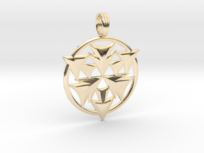 CRYSTAL HORIZONS in 14K Yellow Gold
