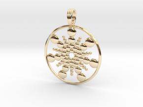 OPTIMUS RAIN in 14k Gold Plated Brass