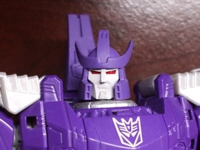Alternate Head (2.0) for Titans Return Galvatron in Frosted Ultra Detail