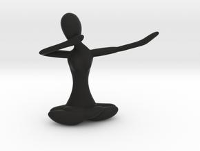 Yoga Dab in Black Natural Versatile Plastic