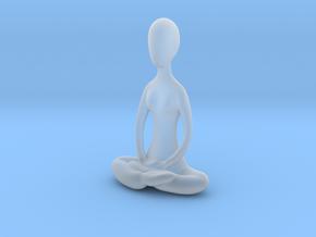 Yoga Lotus  in Smooth Fine Detail Plastic