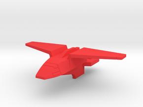 Starcom Missile Fox Satelite in Red Processed Versatile Plastic