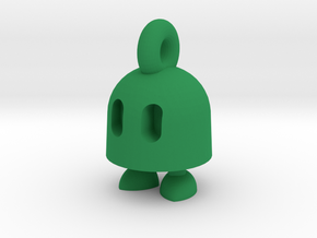 Ibb keychain in Green Processed Versatile Plastic