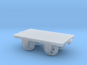 FR Slab Wagon 5.5mm Scale in Smooth Fine Detail Plastic