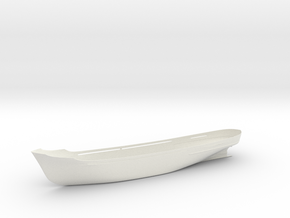 Coaster MS Batavier V Hull 1/200 for mini RC in White Natural Versatile Plastic: 1:200