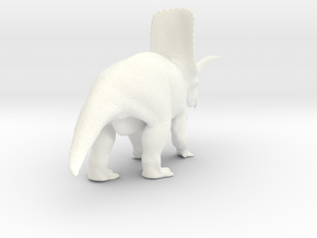 Titanoceratops 1:45 in White Processed Versatile Plastic