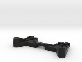 Terra Scorcher G4 part Dual Front Damper Mount in Black Strong & Flexible