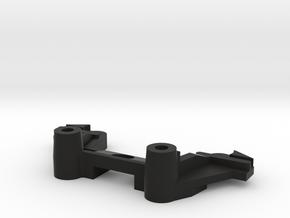 Tamiya Thundershot B16 part Front Damper Mount in Black Natural Versatile Plastic