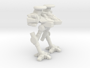 Reverse Joint Light Scout Mech in White Natural Versatile Plastic