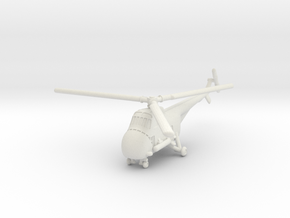 Sikorsky HO4S-3 Horse (S-55) ASW 1/285 6mm in White Natural Versatile Plastic
