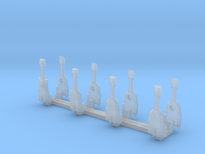 Omni Scale Trobrin Bolt Gunboat Flotilla MGL in Smooth Fine Detail Plastic