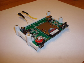 DVR Board Mount in White Natural Versatile Plastic