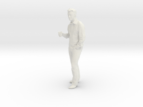 Printle T Homme 201 - 1/32 - wob in White Natural Versatile Plastic