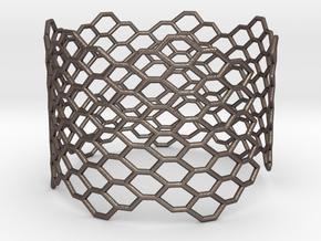 Morphology Bracelet (long) (Sizes S M L) #unique  in Stainless Steel: Medium
