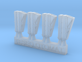 1/700 Teseo\Otomat Mk-2/A Launchers in Smoothest Fine Detail Plastic