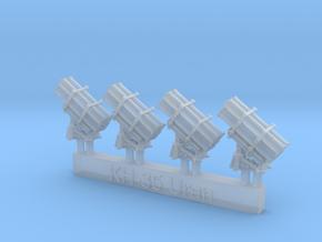 1/700 KH-35 Uran Launchers in Smoothest Fine Detail Plastic