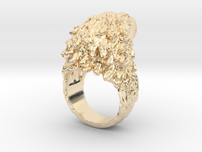 Eagle Ring in 14k Gold Plated Brass: 5 / 49