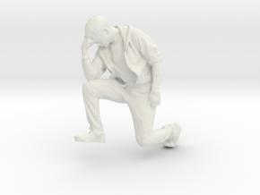 Printle C Homme 209 - 1/32 - wob in White Natural Versatile Plastic