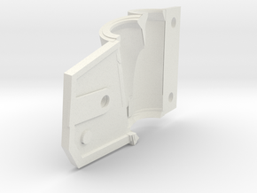 inner left improved dropout shell (2) in White Natural Versatile Plastic