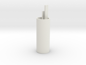 Front BB core, bottom (1) in White Natural Versatile Plastic