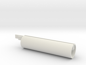 Fork horizontal core, 31.85 in White Natural Versatile Plastic