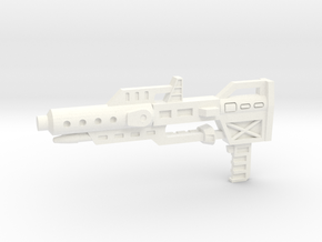 Combiner Wars Ultra Magnus Rifle in White Processed Versatile Plastic