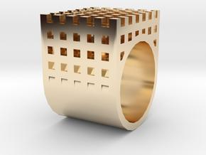 kengo kuma ring in 14k Gold Plated Brass: 1.5 / 40.5