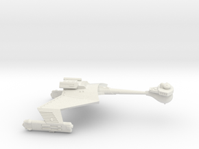 3125 Scale Romulan KR Heavy Cruiser WEM in White Natural Versatile Plastic