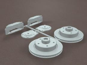 1/16 Generic Rear Disk Brake Kit in Frosted Ultra Detail