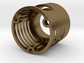 Graflex led holder Metal v1 in Natural Bronze