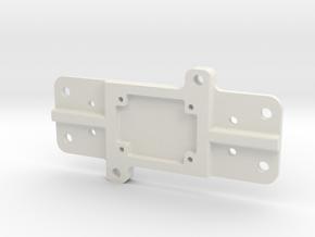 Pololu PWM Relay Enclosure Base in White Natural Versatile Plastic