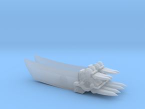 Darksiders Style Scythe - Primaris Dread Scale in Smoothest Fine Detail Plastic