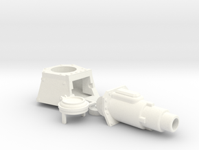 Chimedon Turret (Chimera APC Upgrade) in White Processed Versatile Plastic