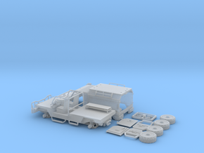IVECO-LMV-Lince-Ambulancia-Mejorado-H0-SH in Smooth Fine Detail Plastic