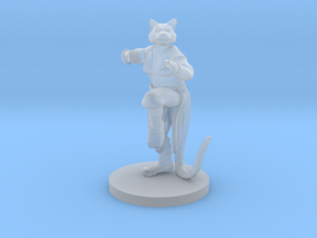 Catfolk Female Monk in Smooth Fine Detail Plastic