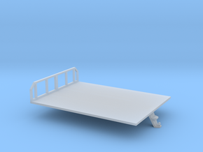 1/87th Morooka platform bed in Smooth Fine Detail Plastic