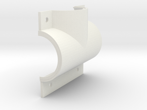 T-shell right, top, 47.6 (1) in White Natural Versatile Plastic