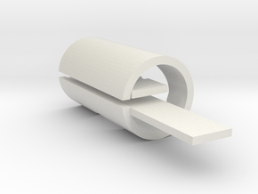 BB Shell core, 47.9 x 86.5 in White Natural Versatile Plastic